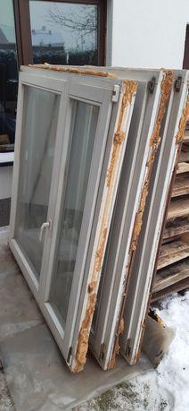 Okna drewniane 137x145 i 143x148