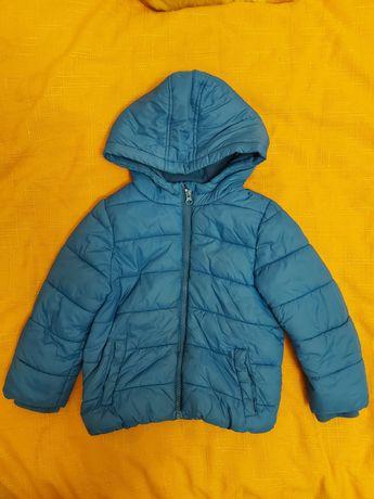 Детская утепленная курточка на мальчика 4-5 лет,(110 см)