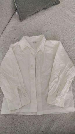 Koszula chłopięca biała 110cm