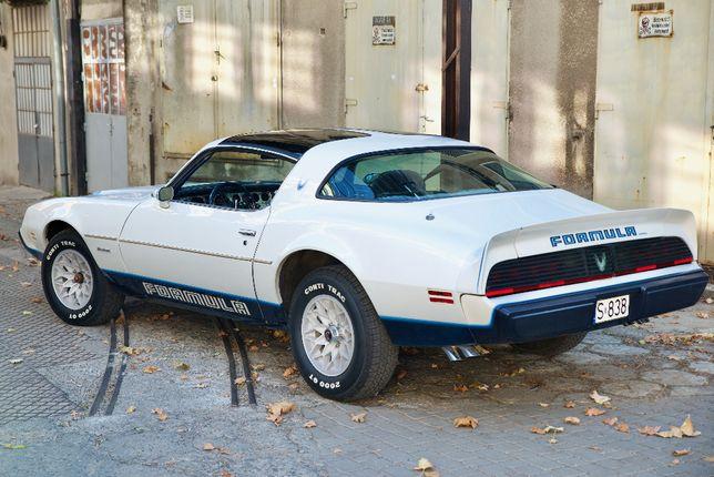 Pontiac FIREBIRD Fromula 81' samochód do ślubu, auto cabrio, Trans Am