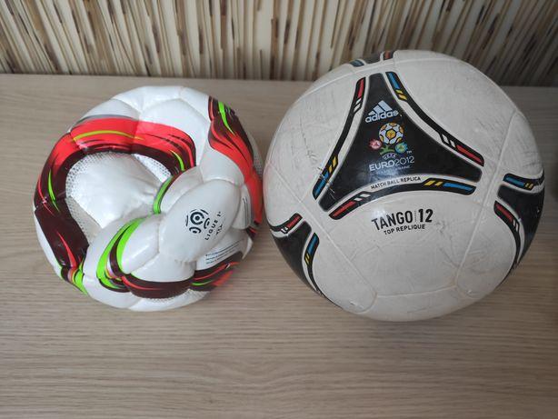 Piłka do piłki nożnej (ta po lewej)