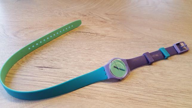 Swatch -Fun In Blue- zegarek damski