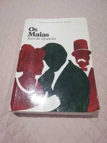 """Livros """"Os Maias"""" + """"Memorial do Convento"""""""