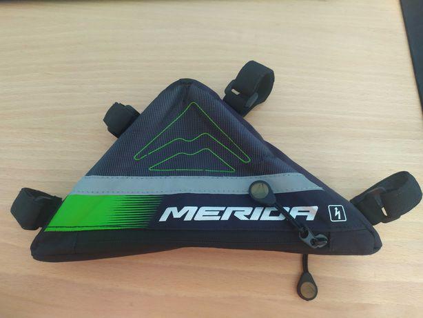 Torebka rowerowa Merida. Używana.