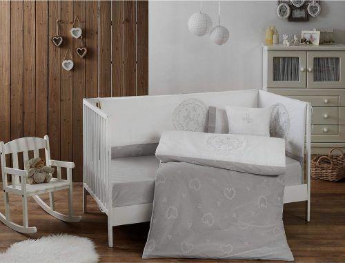 Для новорожденных набор в кроватку с бортиками и одеялом 8 пре