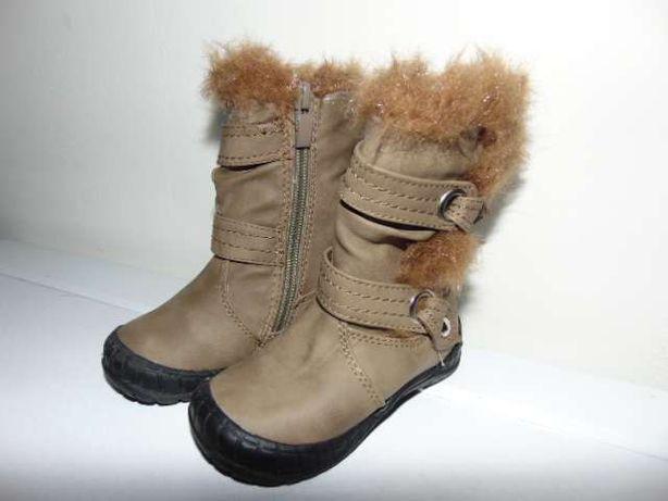 Kozaki buty zimowe dla dziewczynki rozmiar 20