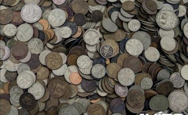 Обмен монеты на мелочь.