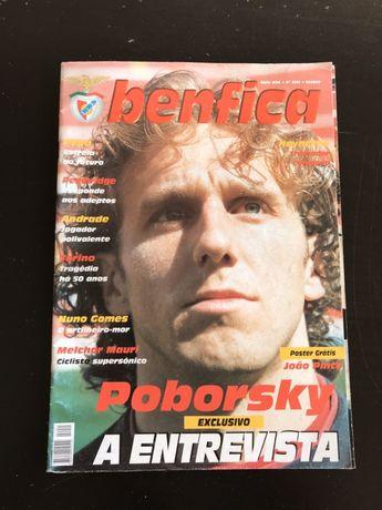 Revista Benfica - Poborsky