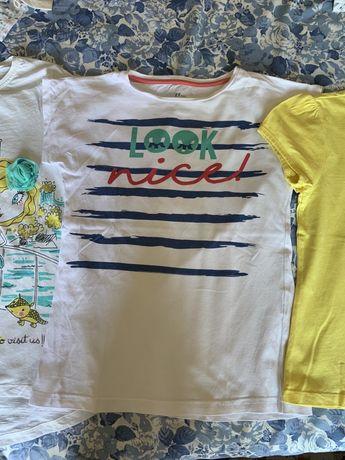 t-shirts menina 9/10 anos, 132 a 136cm