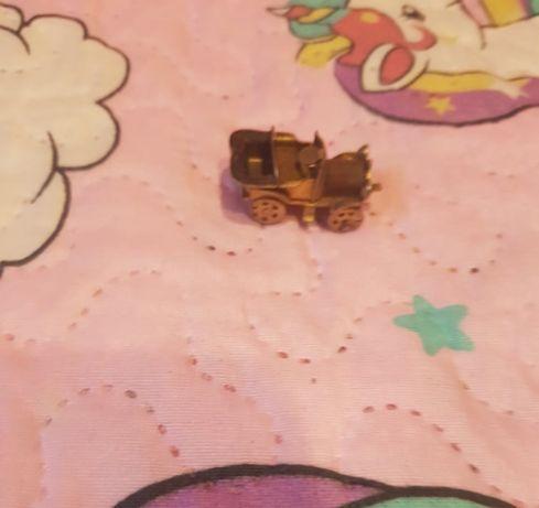 Calhambeque miniatura em cobre