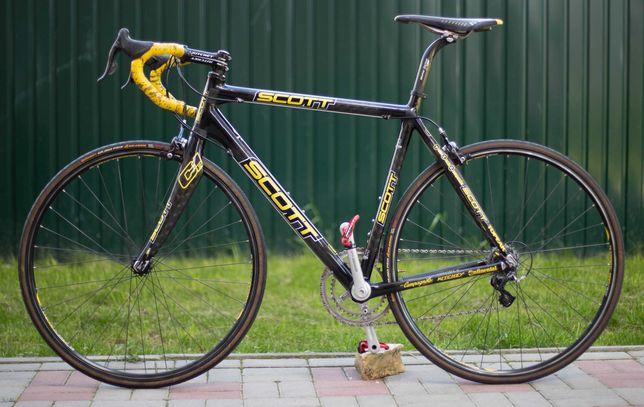 Scott Addict CR1 Team Issue 56cm 175-190 Campagnolo Record 2x10