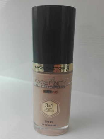 Podkład Max Factor Face Finity all day flawless  3 in 1 70 warm sand