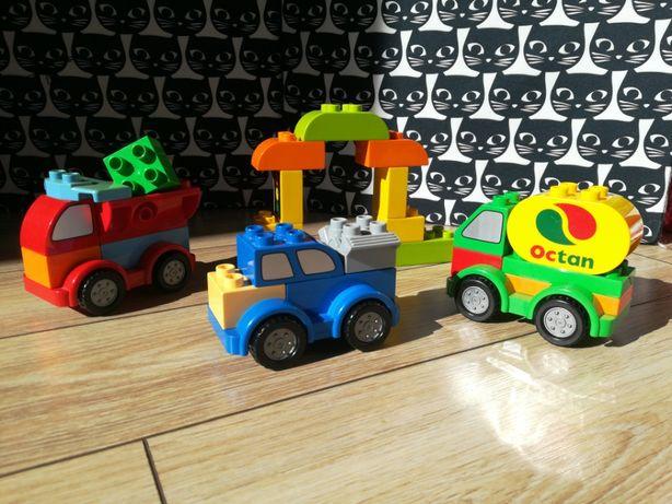 Klocki Lego Duplo 10552 dodatkowe części stacja paliw auta