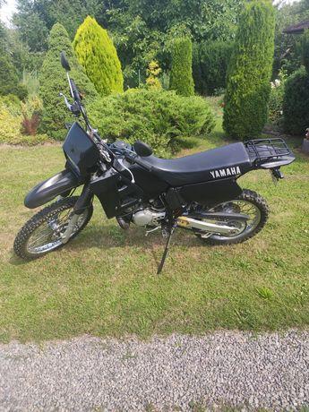 Yamaha DT125R zarejestrowana