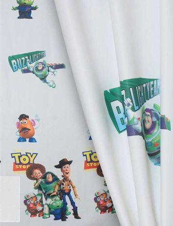 Zasłona na okno dziecięca Toy Story 180x150
