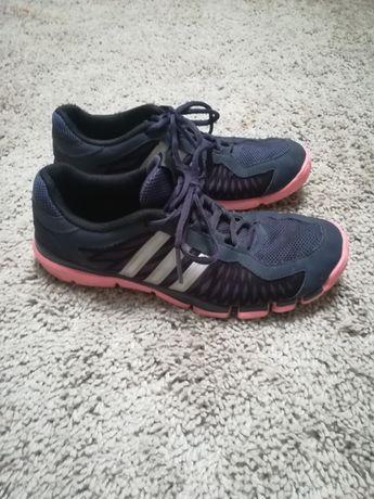 Buty sportowe Adidas rozmiar 39 i 1/3 fitness granatowe