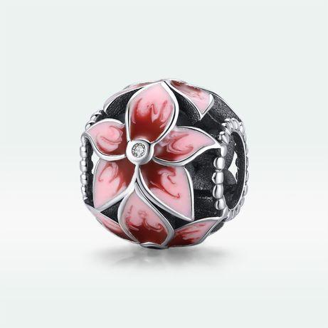 Zawieszka charms Kwiat srebro 925 do Pandora AN3019 Ponad 100 wzorów