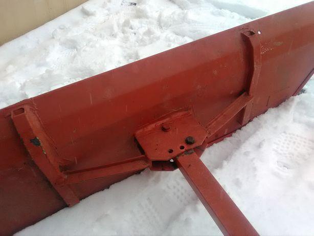 Pług do śniegu traktorek lub quad plus łańcuchy