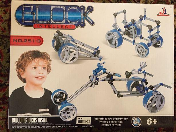 Конструктор Block Intellect 251-3, 118 Деталей