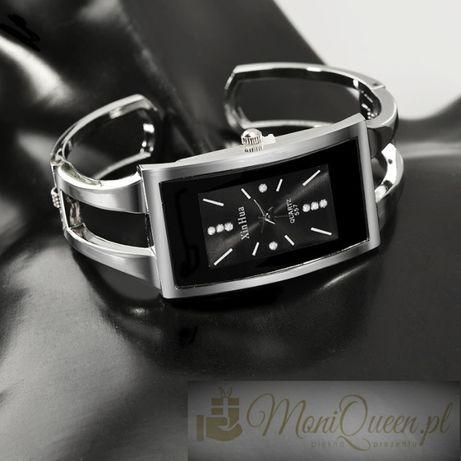 GOTOWY PREZENT Zegarek brsansoletka z cyrkoniami Walentynki