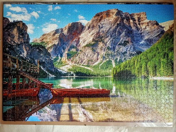 The Dolomites Mountains, Italy, puzzle, Castorland, 1000 elementów