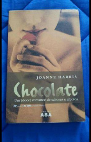 Livro Chocolate de Joanne Harris