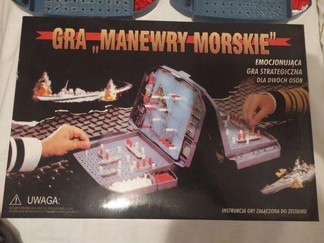 """Gra """"Manewry Morskie"""", statki"""
