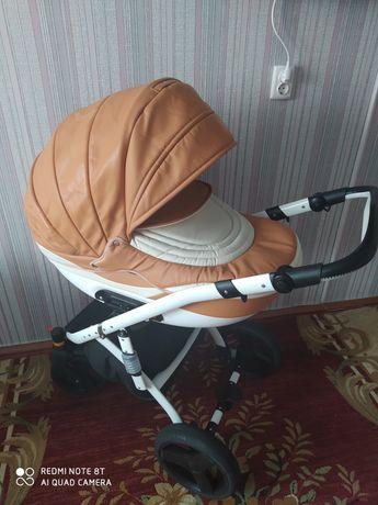 Дитяча коляска 2в1 + кокон в подарунок