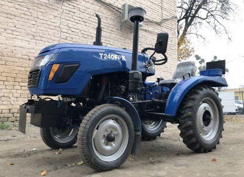 Новий мінітрактор Сінтай 240, 24 к.с., 3 циліндра. Трактор з гарантією
