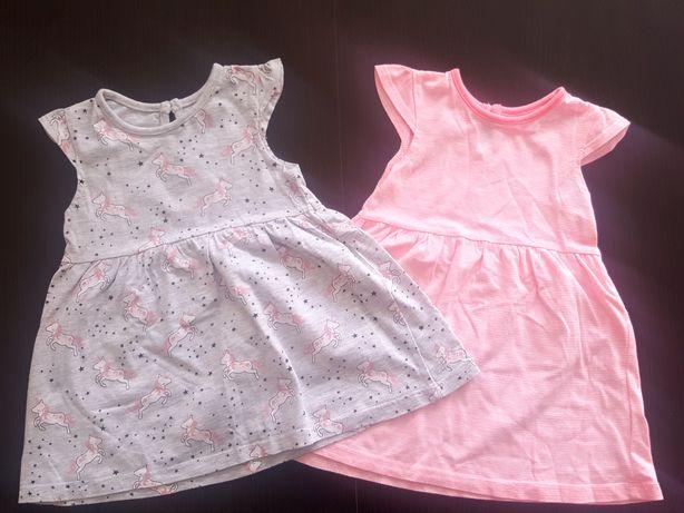 Śliczne sukienki sukienka , roz. 74
