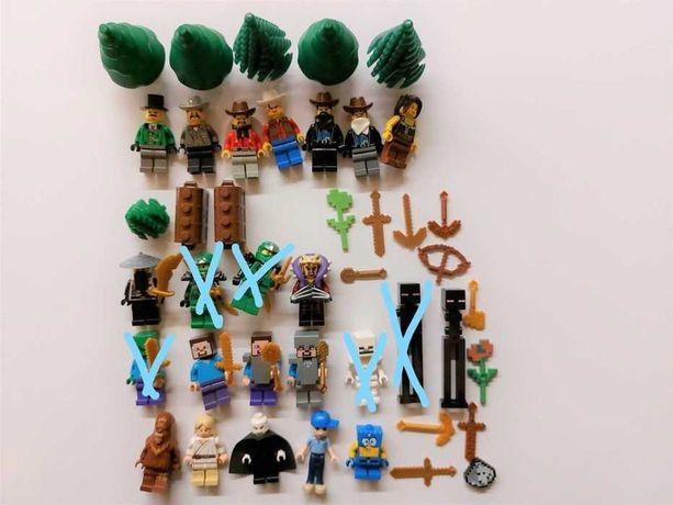 Lego minecraft, western, ninjago- minifigurki, figurki, ludziki