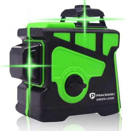 3D 12 линий Лазерный Уровень НИВЕЛИР Pracmanu 3D + ПУЛЬТ. ОТКАЛИБРОВАН