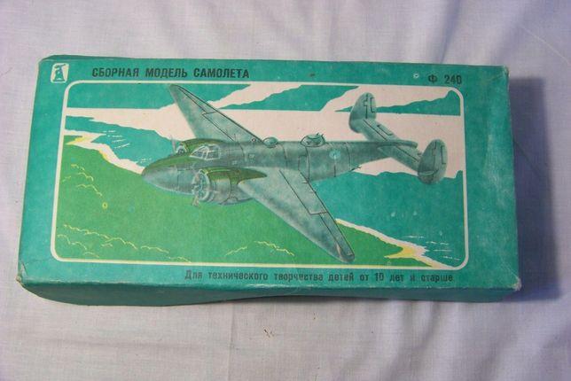 Самолёта для творчества детей от 10 лет Локхид Вентура Lockheed Ventur