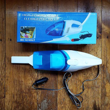 Новый Вакуумный Автомобильный пылесос Vacuum Cleaner для авто 12 V В