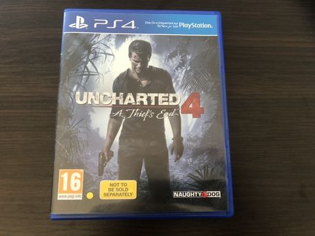 Uncharted 4 Kres Złodzieja PL PlayStation 4 jak nowa !!