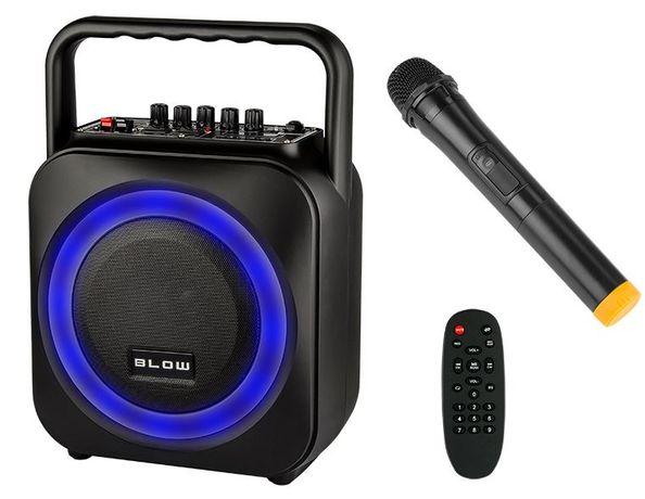 Kolumna MOC Boombox MP3 RADIO BT Karaoke MIKROFON głośnik