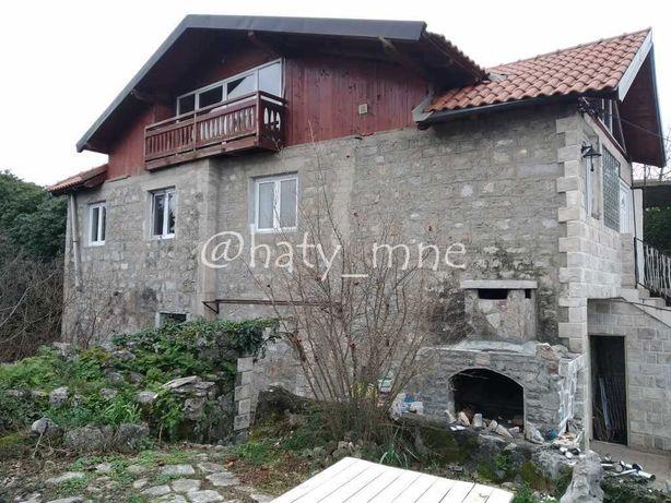 Черногория, Каменный дом с мансардой, видом на море, Луштица