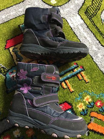 Ботинки термо обувь для девочки чобітки термо 28 р