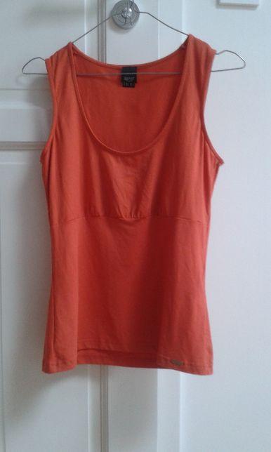 Esprit bluzka na ramiączkach M rdzawy, koralowy, terrakota