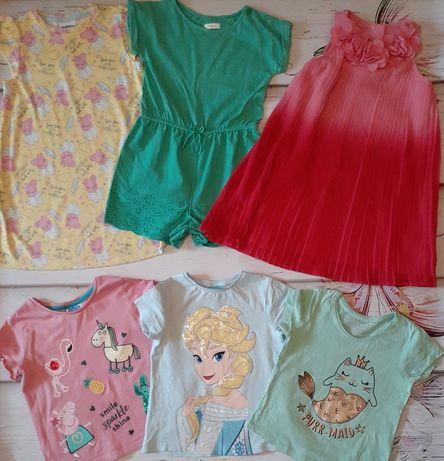 Пакет вещей 2-3 года платье футболки шорты  панама