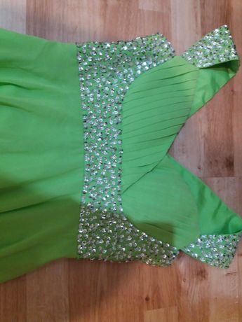 długa suknia wesele przyjęcie 36 38