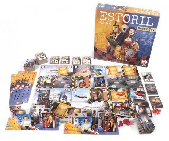 Jogo Tabuleiro Estoril 1942 – Super Box
