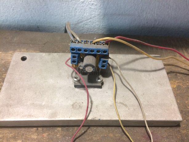 Аудио усилитель 2х45Вт с питающим трансформатором и диодным мостом