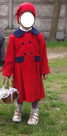 Płaszczyk wiosenny dziewczęcy 104-110 kurtka gratis