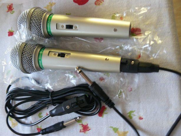 Mikrofon Dynamic Microphone Karaoke kompletny