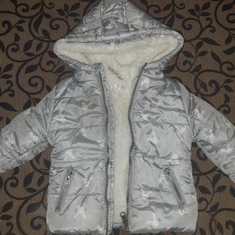Курточка на девочку зима.Шапочка в подарок