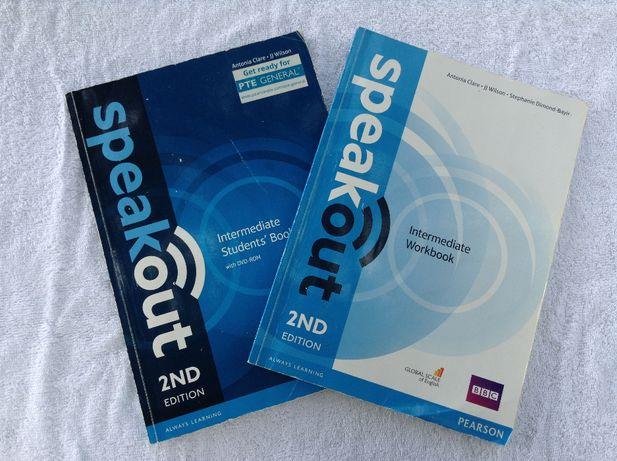 Speakout 2nd Edition, INTERMEDIANTE, book+workbook+DVD, Pearson