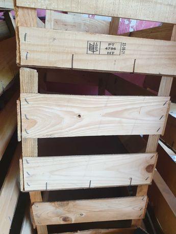 Caixa de madeira/plástico fruta