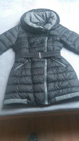 Kurtka damska zimowa ,płaszcz roz. 38 czarna .