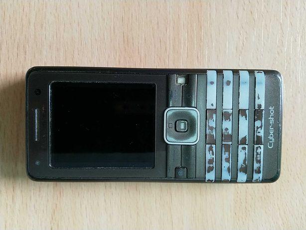 Sony Ericsson K770i brązowy, sprawny